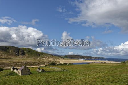 united kingdom scotland highland sutherland crofter