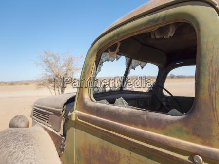 africa namibia oldtimer wrack