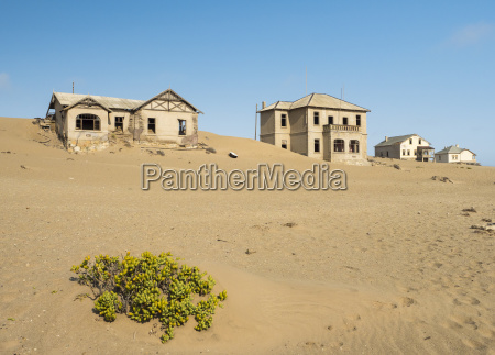 africa namibia houses of ghost town