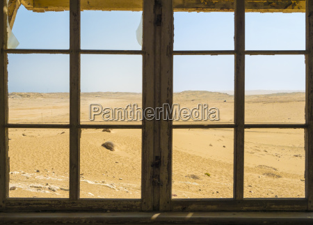 africa namibia ghost town kolmanskop view
