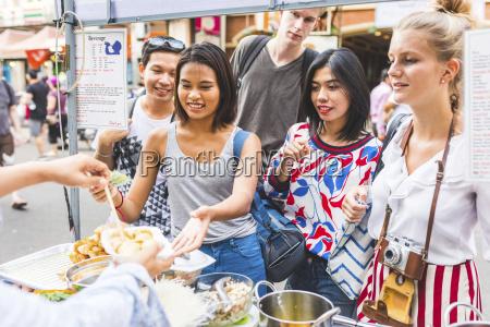 thailand bangkok khao san road gruppe
