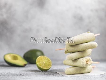 avocado limone popsicle kopie raum