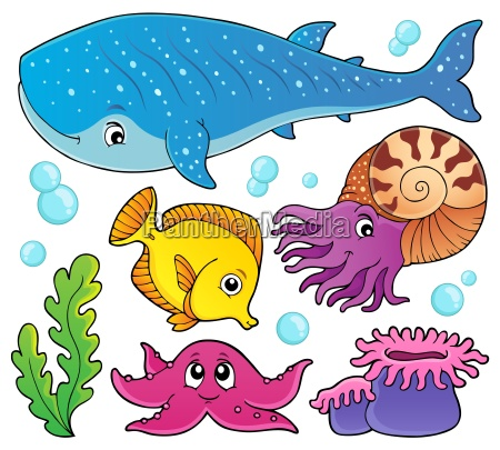 ocean life theme set 1