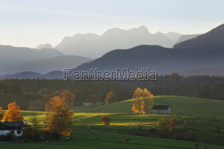 germany bavaria upper bavaria alpine foothills