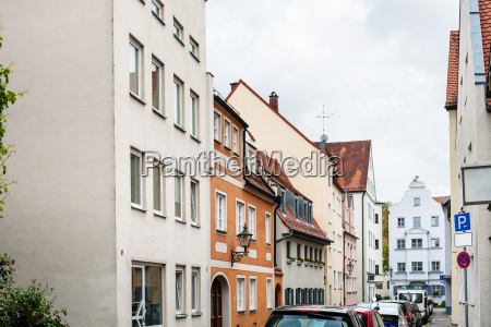 altes wohnquartier in augsburg