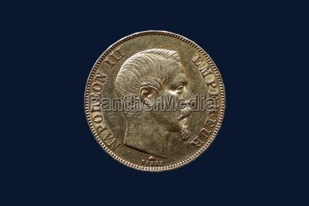 50 goldfrancs napoleon der dritte