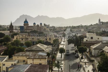 overlook over the town of keren