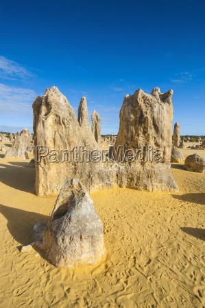blue bucolic desert wasteland national park