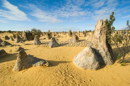 bucolic desert wasteland national park cloud