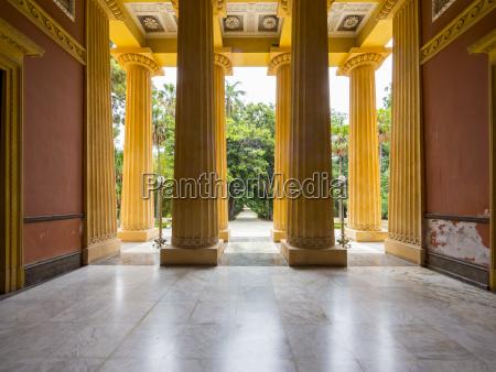 villa giulia palermo sizilien italien europa