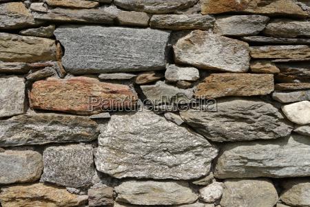 steinmauer glimmerschieder granit freilichtmuseum anton hofer