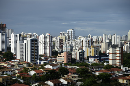 hochhauslandschaft salvador bahia brasilien