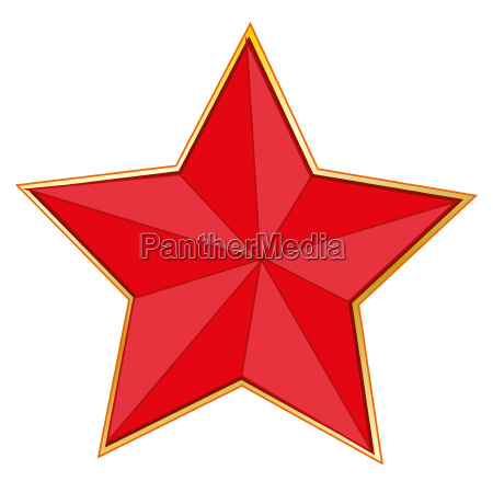 sign red star