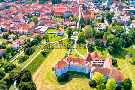 town of varazdin historic center and