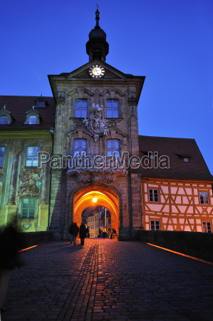 the old town hall in the