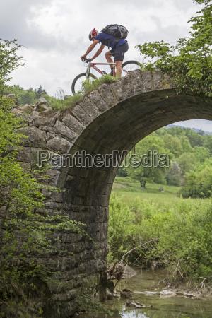 mountainbiketour mit kuriosen einlagen