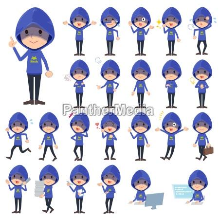 blauer parker hacker men1