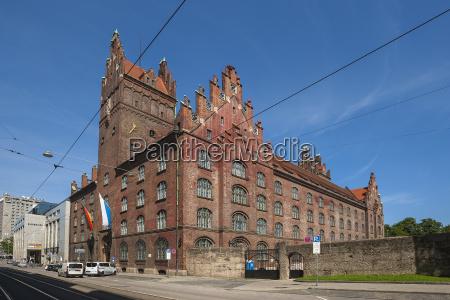 new courthouse by friedrich von thiersch
