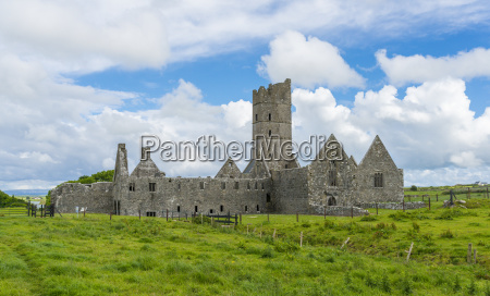 moyne abbey county mayo irland