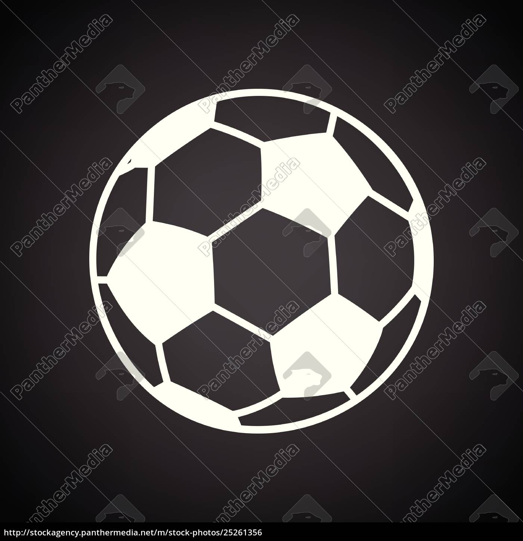 Lizenzfreie Vektorgrafik 25261356 Fussball Symbol