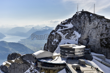 hotel bellevue on pilatus winter kriens