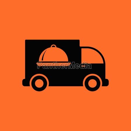 delivering car icon