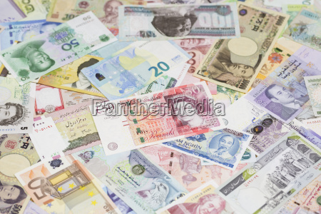 international currency banknotes