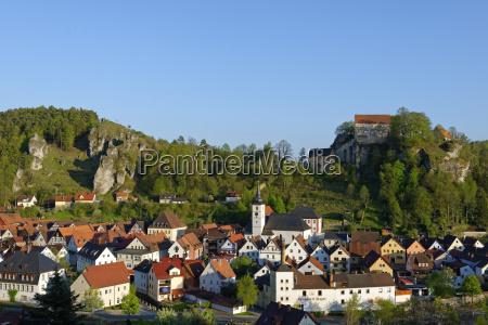 burg pottenstein franconian switzerland upper franconia