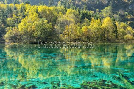 jiuzhaigou np colorful lake