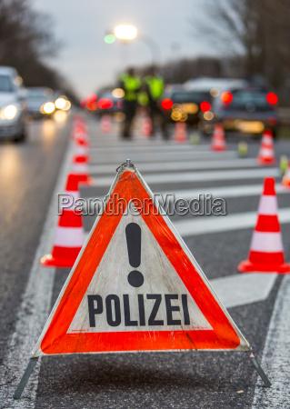 verkehrskontrolle durch die polizei