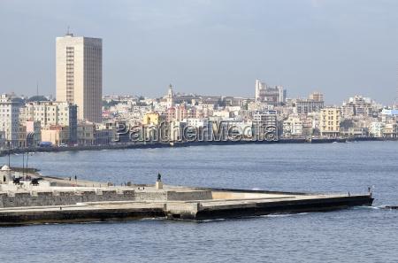 ausblick auf die stadtteile centro habana