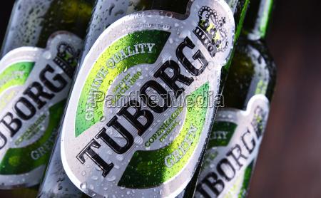 flaschen tuborg bier
