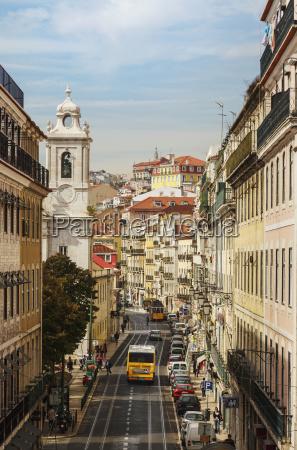 view down rua de s paulo