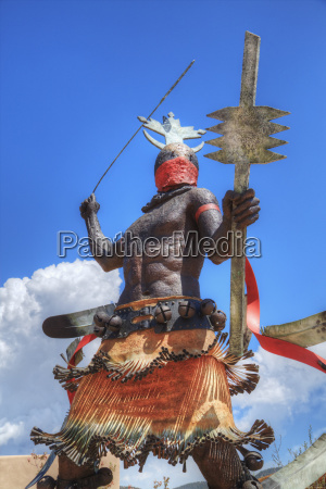apache mountain spirit dancer statue by