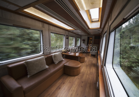 lounge carriage of the tren crucero