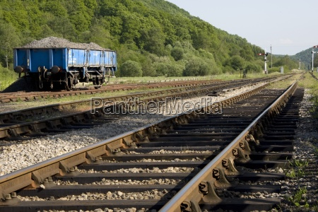 bahnstrecke levisham north yorkshire england uk