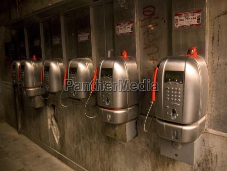 telefonzellen venedig italien