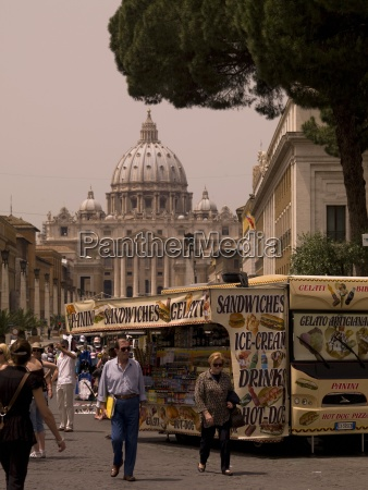 citylife in rome vatican rome italy