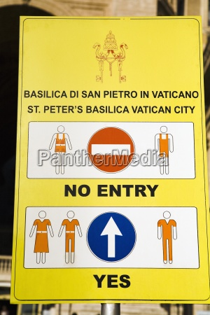 information sign at the saint peters