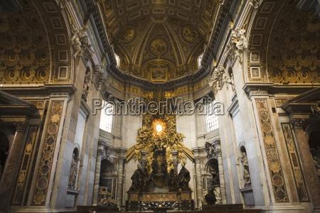 the chair of saint peter saint