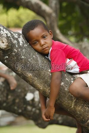 tasbapauni nicaragua boy lying on tree