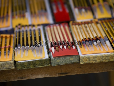 various pencils for sale on market