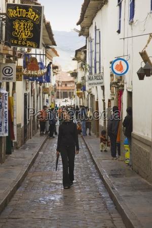 gringo alley near the plaza de