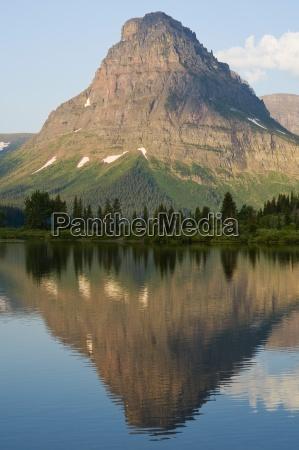 sinopah mountain and two medicine lake