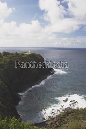 kilauea lighthouse kilauea point kauai hawaii