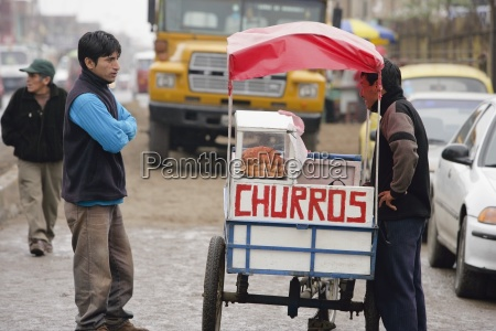 churros vendor lima peru