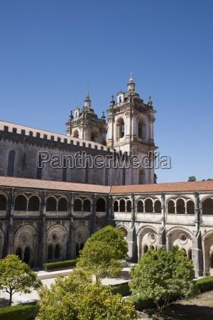 cloister of silence in mosteiro de