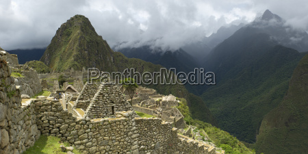 view of the historic inca site