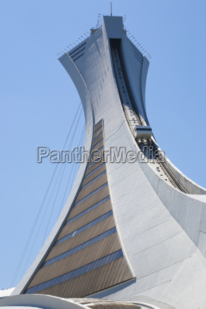 montreal olympic stadium montreal tower and