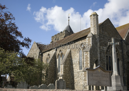 a traditional anglican church building rye